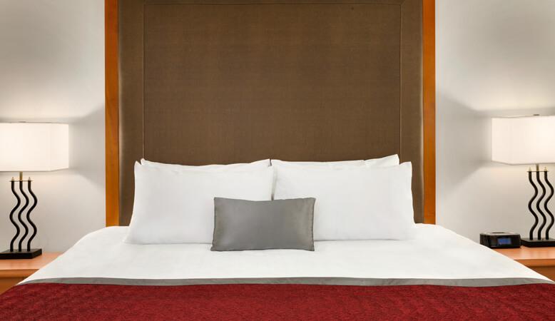 东翼标准特大床加沙发床客房
